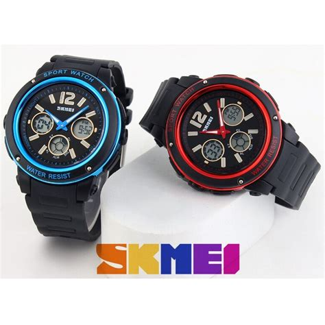 Skmei Jam Tangan Digital Pria Dg1215s Black skmei jam tangan analog digital pria ad1051 black blue