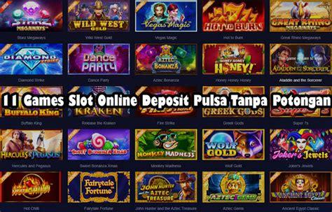 games slot  deposit pulsa  potongan tribunmetro