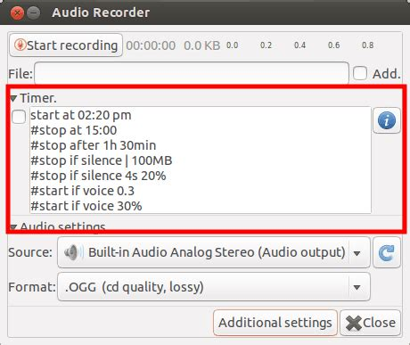 which audio file format is the best quality how to record streaming audio in ubuntu linux