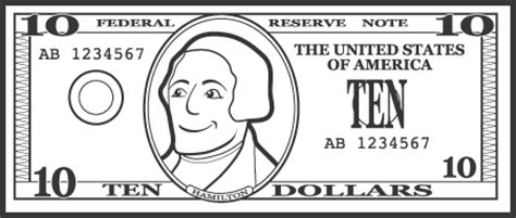 dollar bill template for teachers fantastic clip for february scholastic