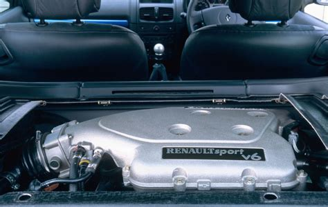 renault clio v6 engine bay renault clio v6 2001 2005 driving performance parkers
