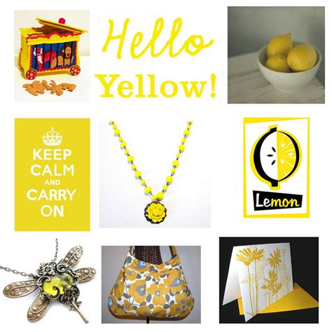 Hello Yellow by Hello Yellow Cathy Mores