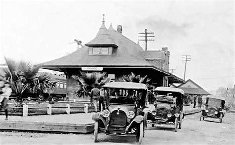 depot orange tx circa 1919 historic