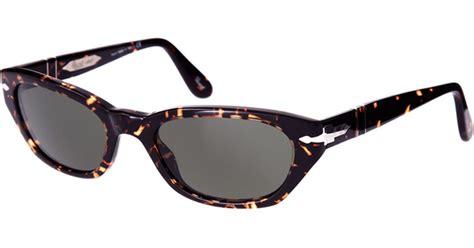 Cat Eye Rafflesia Orange persol cats eye sunglasses in black lyst