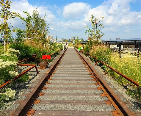is section 8 open in nyc photos iconic high line park in nyc opens final section