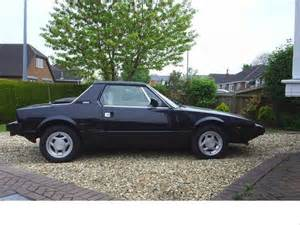 Fiat X19 For Sale Fiat X19 In Black Ready To Go Sold 1983 On Car And
