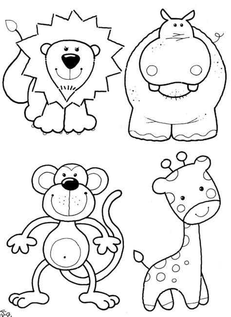 imagenes de animales de la selva para imprimir animales para ni 241 os para colorear y divertirse mariposas