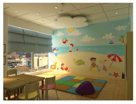 lukisan dinding sekolah berkualitas