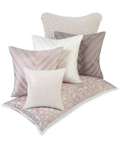 macys bed pillows vince camuto home lisbon decorative pillow collection