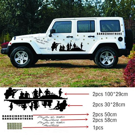 Cool Jeep Decals 2015 New Arrive 1set Car Whole Car Stickers Cool Bend