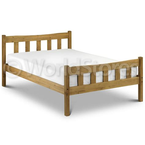 Beds Wooden Frames Pine Bed Frame Next Day Delivery Pine Bed Frame From Worldstores Everything For