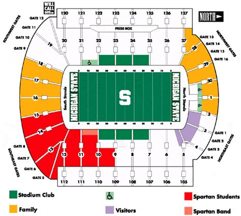 Spartan Ticket Office by Official Athletic Site Michigan State Marketplace