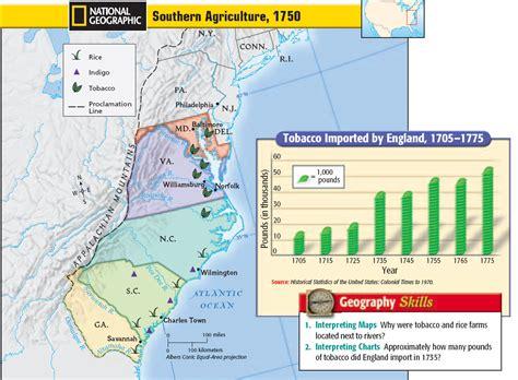southern colonies map matt foster northside elementary school