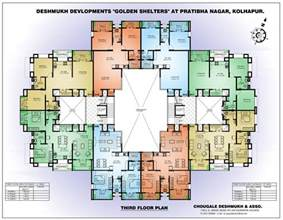 House Plans To Build 4 Bedroom Apartment Floor Plans Apartment Building Floor