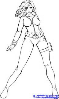 black widow coloring pages widow marvel coloring pages
