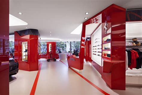 ferrari showroom lavish ferrari store finally opens in new york