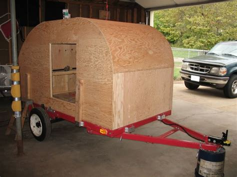 teardrop trailer plans free homemade teardrop cer how to build a wanderpup cer