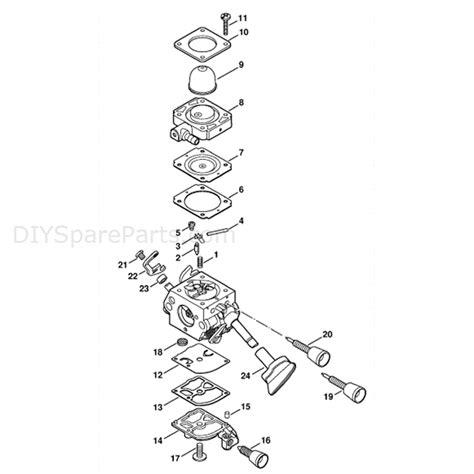 stihl bg 86 blower parts diagram stihl bg 86 blower bg86 parts diagram carburetor c1m