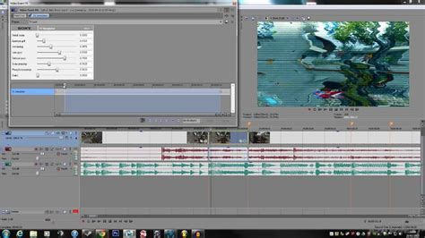 tutorial sony vegas effects montage effects glitch static sony vegas pro 12