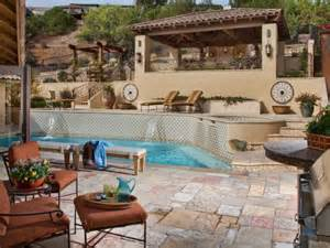 backyard remodel tips for designing a pool deck or patio hgtv