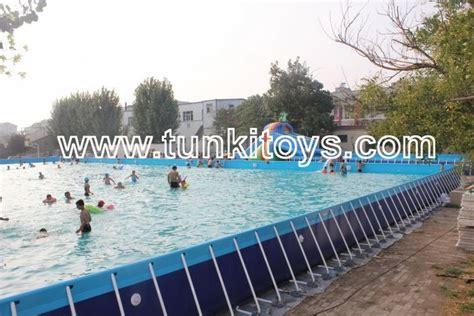 square swimming pool 6 3 1 3m metal frame swimming pool for backyard square