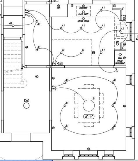 kitchen recessed lighting wiring diagram cabinet