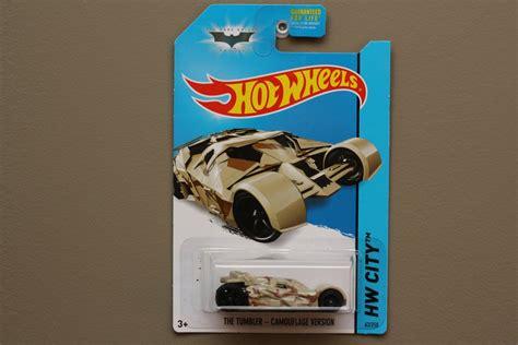 Hotwheels The Batman Batmobile 2014 wheels 2014 hw city the tumbler camouflage version