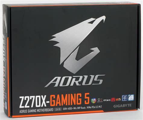 Ga Z270x Gaming 5 aorus ga z270x gaming 5