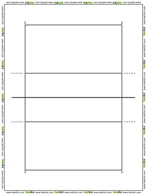 printable volleyball worksheets blank volleyball courts white gold