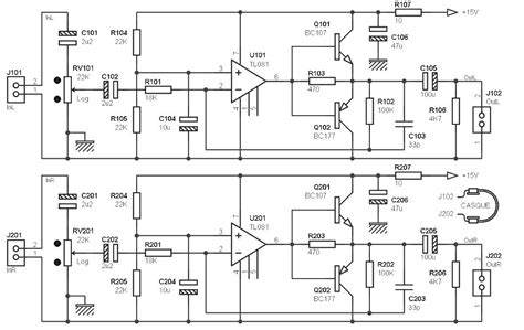 transistor headphone lifier circuit headphone lifier with single supply archives lifier circuit design