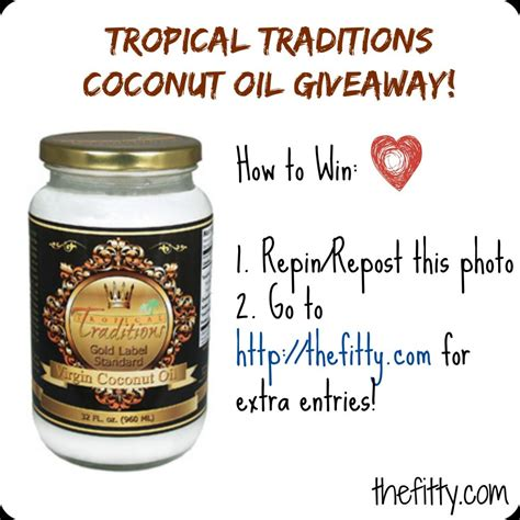 tropical traditions review tropical traditions coconut review and giveaway the