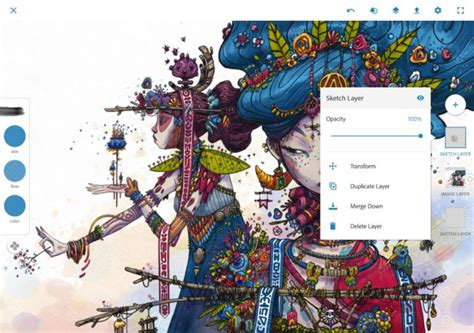 sketchbook hd apk adobe brings photoshop sketch fix and comp cc to android