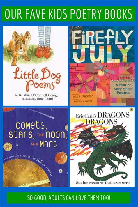 poetry picture books for children our fave poetry books for national poetry month