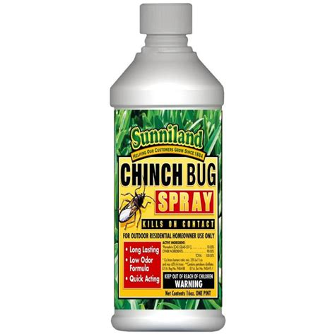 lowes bed bug spray shop sunniland 16 oz chinch bug killer at lowes com