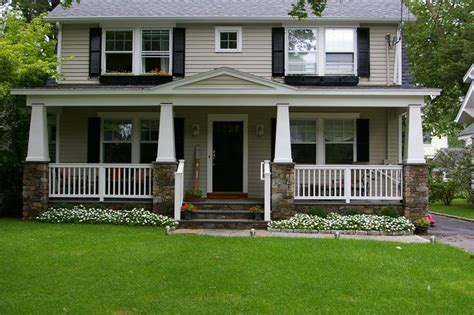 inviting front porch hwbdo75600 traditional from builderhouseplans com 147 best images about garrison colonial exterior on