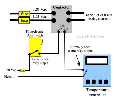 wiring diagram for contactor and photocell switch 49