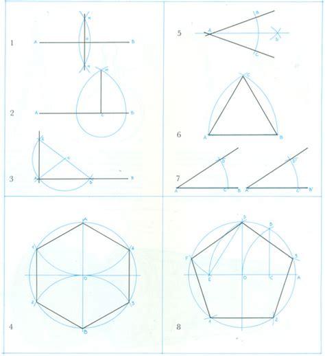 figuras geometricas hechas con compas construccion de figuras geometricas 171 la tipografia