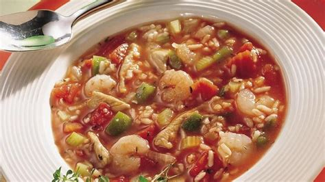 printable gumbo recipes home style gumbo recipe from betty crocker