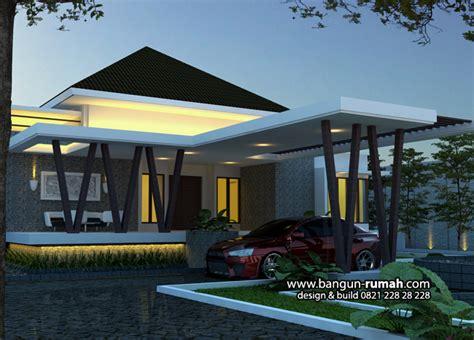 Desain Eksterior Rumah Tropis Modern | desain rumah modern tropis 2017
