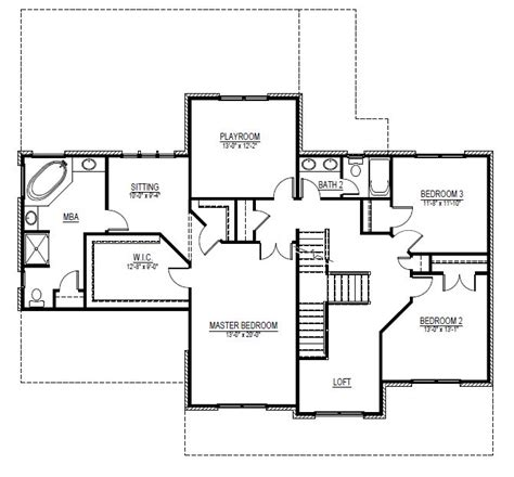 house plans with in suite this bathroom tiny small simple