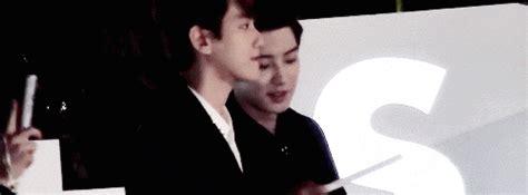 exo happy together exo exo k baekhyun chanyeol baekyeol exogiif kjhdlkhjda