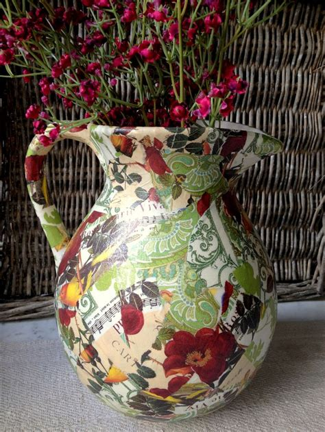Decoupage Craft Projects - 18 best images about decoupage on bottle