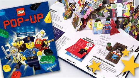 preview lego pop up a journey through the lego universe