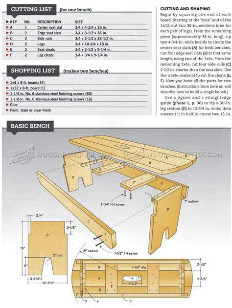 outdoor bench seat plans woodarchivist