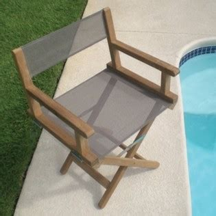 outdoor teak directors chairs royal teak dirch director chair taupe contemporary