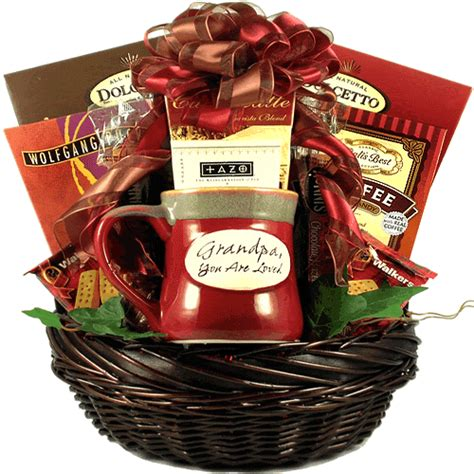 gifts for grandfather gift basket for grandfathers