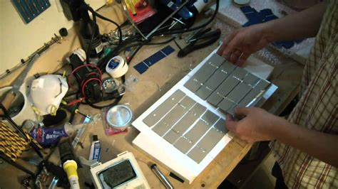 diy solar panel projects broken lcd to solar panel recycling green diy project part 2