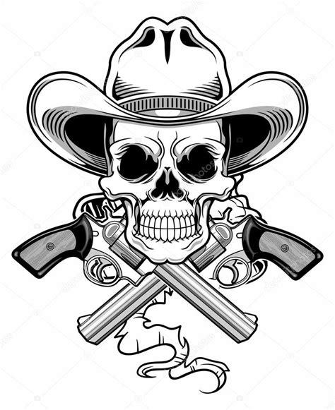 outlaw skull stock vector 169 guntariana 63211183