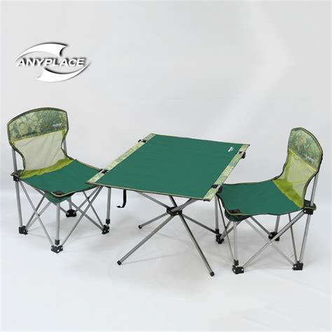 Outdoor Folding Table And Chairs by 2016 New Anyplace Outdoor Folding Tables And Chairs Set A