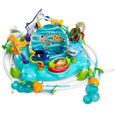 Brightstarts Finding Nemo Sea Of Activities Jumpero table d activit 233 s jumperoo nemo de disney baby